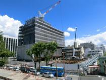 新庁舎工事現場