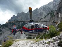 Polizeihubschrauber EC 135 FEST Graz