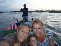 Unterwegs auf dem Mekongdelta