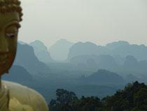 Die atemberaubende Aussicht des Buddah: Tiger Cave Temple in Krabi Town