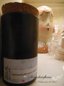 Gewürz Keramik Gewürzmischung Stollen Weihnachtsgebäck Spekulatius Feinkost Glühwein Punsch