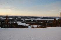 Blick vom Nalovardo auf die Unendlichkeit Lapplands