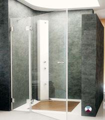 Mamparas para ba o o ducha a medida en cristal templado o for Mamparas bd