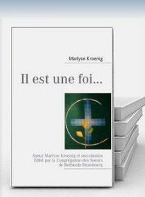 Biographie de Soeur Marlyse Kroenig