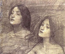 study of nymphs by waterhouse