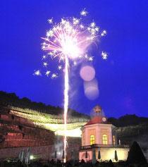 Musikfeuerwerwerk am Schloss Wackerbarth yandra-fire.com