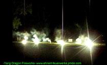 Musikfeuerwerk mit Blinkbengalen von yandra-fire.com