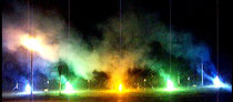 Geburtstagsfeuerwerk in Halle an der Saale