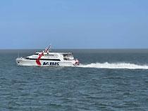 Die AG EMS freut sich auf Ihren Transport: Hier die Münsterland im Emder Außenhafen