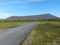 Tephra-Krater Hverfell