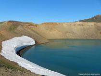 Krafla - Krater Stóra-Víti
