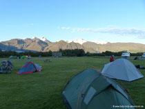 Campingplatz Skaftafell Nationalpark
