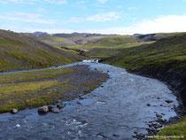 Fluss Skógá