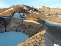 Askja-Krater - Víti