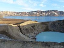 Askja-Krater - Öskjuvatn und Víti
