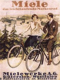 Miele-Werbung Ende 1920er Jahre
