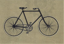 Katalogblatt La Francaise, Modell 'Route Extra' (Tourenrad) 1905