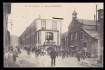 Peugeot-Werk in Valentigney um 1910