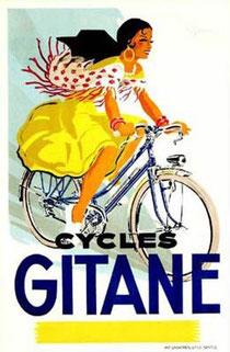 Werbeplakat der Firma Gitane, Ende 1950er/1960er Jahre