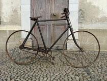Peugeot Course von 1895, gereinigter Fundzustand