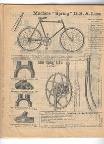 Katalogblatt Décosse 1907 mit Bausatz 'Spring Luxe'  von U.S.A.