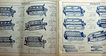 Katalogblatt A. Roberty 1906 mit Pedal von AUTOMOTO