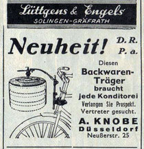 Anzeige aus 'Radmarkt' 1936