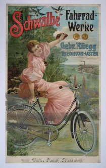 Werbeplakat der Firma Rüegg in Riedikon-Uster, um 1900*