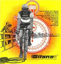 Werbung der Firma Gitane aus den 1960er Jahren