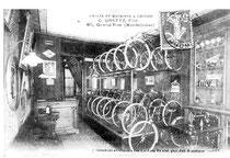 Fahrradladen in Montelimar, 1907