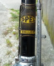 Opel Ballon von 1931. 'Das Rad der Zukunft', wie es Opel beschrieb.