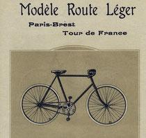Katalogblatt La Francaise, Modell 'Route Léger' (Rennrad) 1905
