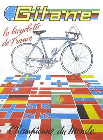 Werbung der Firma Gitane von 1968