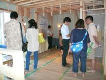 「呼吸する家」建物構造見学会を川崎市で開催