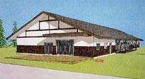相馬市が建設計画を明らかにした、独居高齢者向け「災害公営住宅」のデザイン