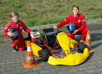Florian Zölsmann (links) und Andreas Prautsch wurden für die Deutsche Meisterschaft nominiert.