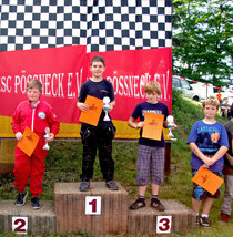Florian erfuhr sich nach starker Leistung den 2. Platz.