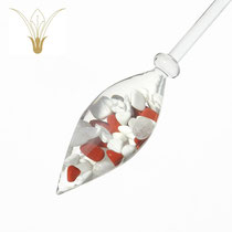Roter Jaspis-Bergkristall-Magnesit CHF 120.-