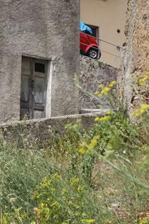 italiensche Häuser im Dorf