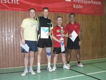 Herren B-Klasse Platz 1 und 2