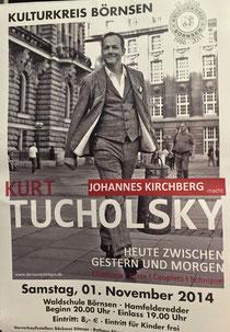 Plakat Johannes Kirchberg