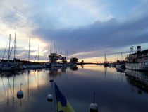 Sunset in Mariestad