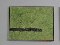 Sackgasse, Acylbild 30 x 40 cm mit ALU-Rahmen