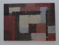 Labyrinth, Acylbild ca. 50 x 70 cm