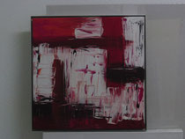 Nr. 5, Acrylbild, ca. 40 x 40 cm mit ALU-Rahmen