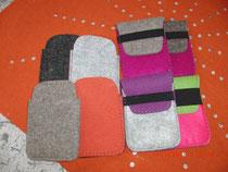Handytaschen- verschiedene Größen und Muster