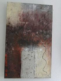 Sonnenseite, Acrylbild 60 x 100 cm