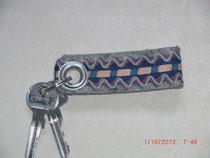 Schlüsselanhänger mit verschiedenen Muster
