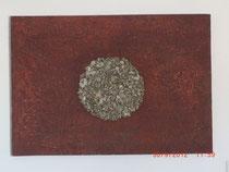 Abendrot, Acrylbild 100 x 70 cm