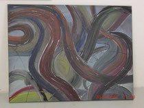 Tausend und eine Nacht, Acrylbild 50 x 70 cm
